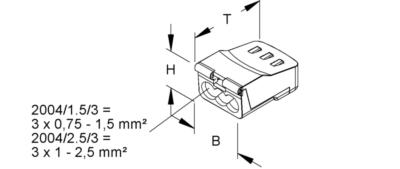CONNECTEURS AUTOMATIQUES 450 V