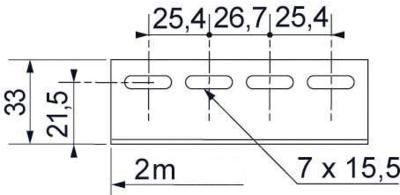 CORNIERE A 562 - 2M