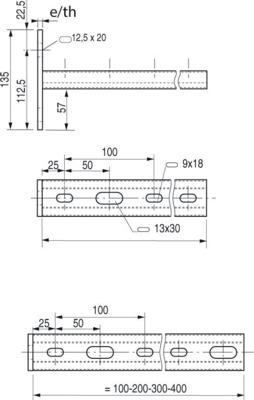 CONSOLES STRUT 41X21 - PS641