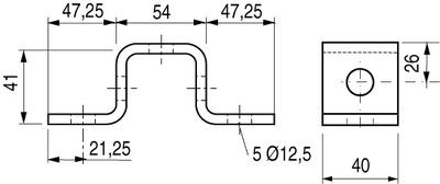 OMEGA STRUT 41x41 - PS 613