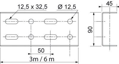 MONTANTS UN 90x45