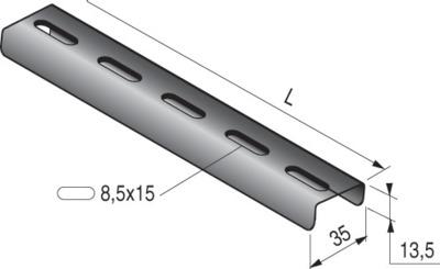 U 35x13,5 - 3M