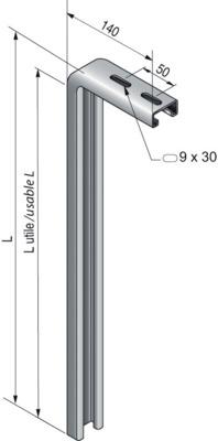 PENDARDS STRUT C 41X21 - C641